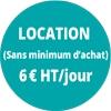 LOCATION 6€/JOUR