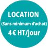 Location-4€/jour