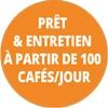 Entretient 100 cafés jour