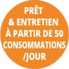 50 consommations/jour