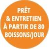 Prêt & Entretien A partir de 80 Capsules / jour