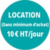 location 10€/jour
